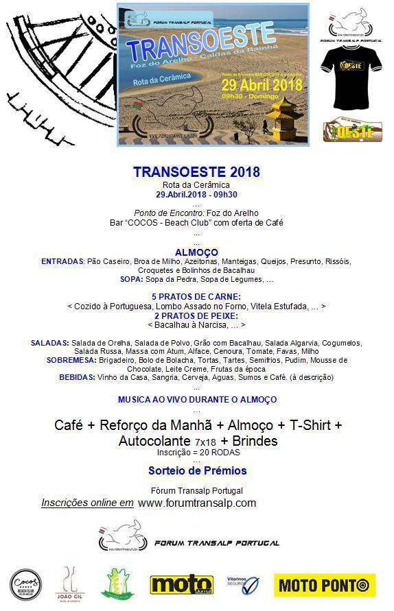 TransOESTE 29 Abril 2018 - Caldas da Rainha Almoyu12