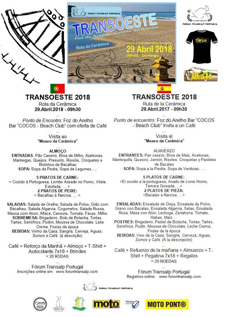 TransOESTE 29 Abril 2018 - Caldas da Rainha Almoyu13