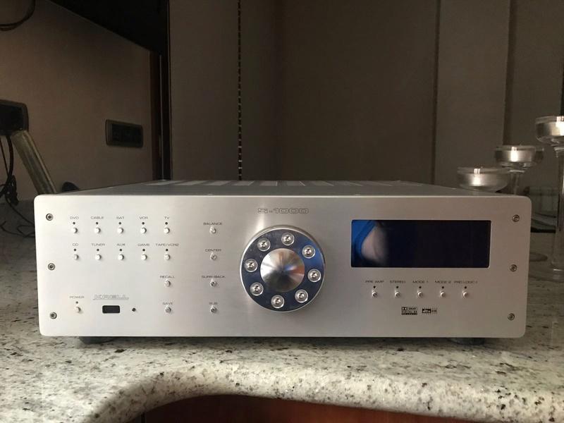 VENDIDO Previo estéreo / Procesador multicanal Krell S-1000  06757c10