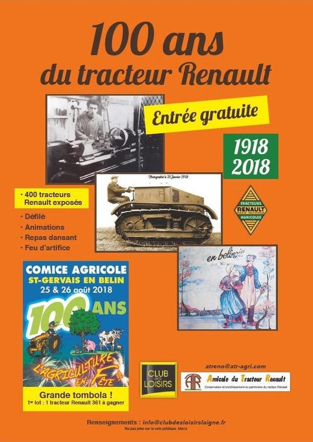LES 100 ANS DU TRACTEUR RENAULT - Page 2 100ans10