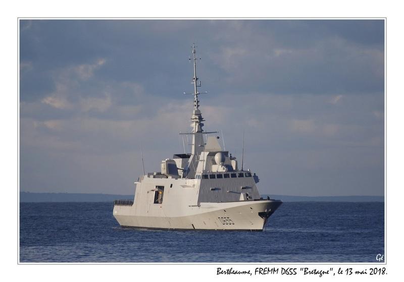 [ Divers frégates ] FREMM Bretagne  20180523
