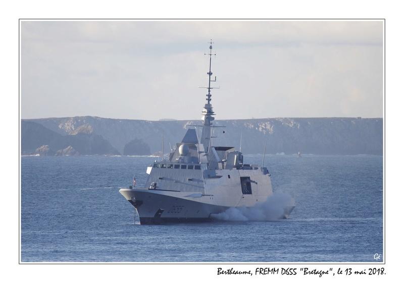 [ Divers frégates ] FREMM Bretagne  20180524