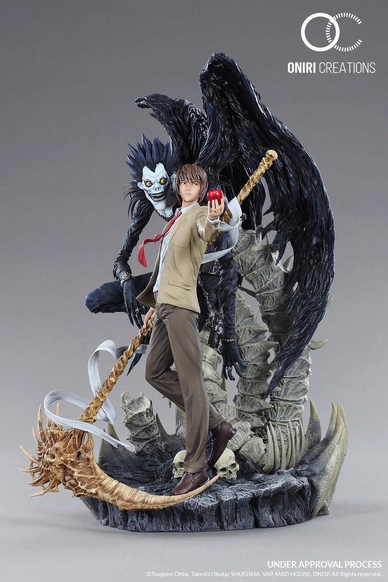 Oniri Créations : Death Note statue - Page 2 Oniri_10