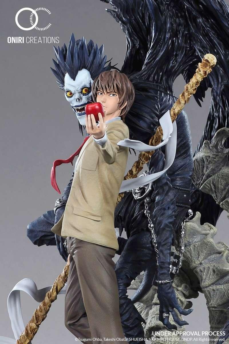 Oniri Créations : Death Note statue - Page 2 Oniri_11