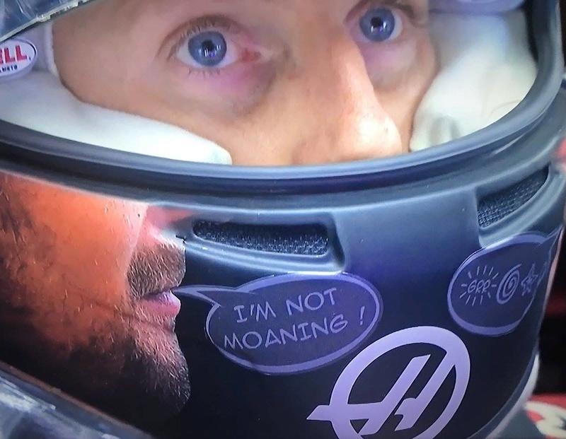 Les images insolites de la F1 - Page 13 Grosje10
