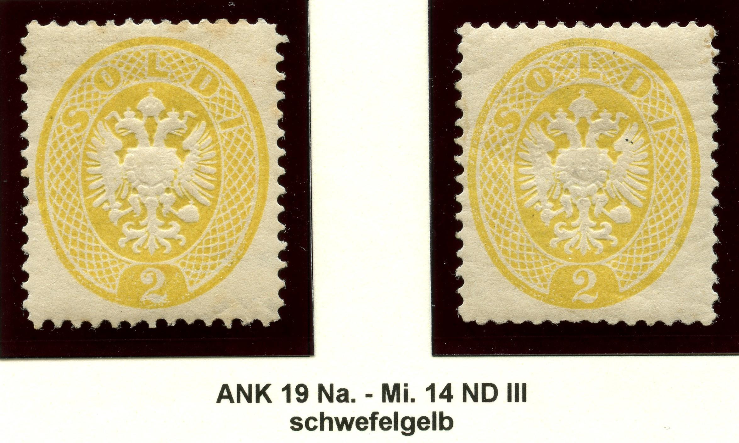 Lombardei-Venetien, Ausgaben 1863 und 1864 1884_l10
