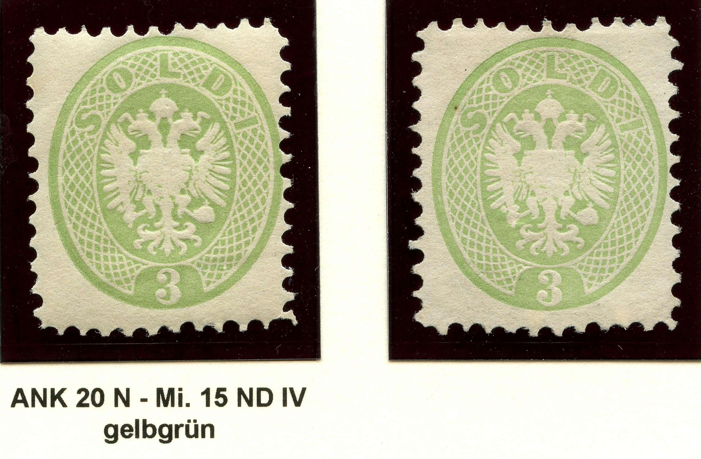 Lombardei-Venetien, Ausgaben 1863 und 1864 1887_l11