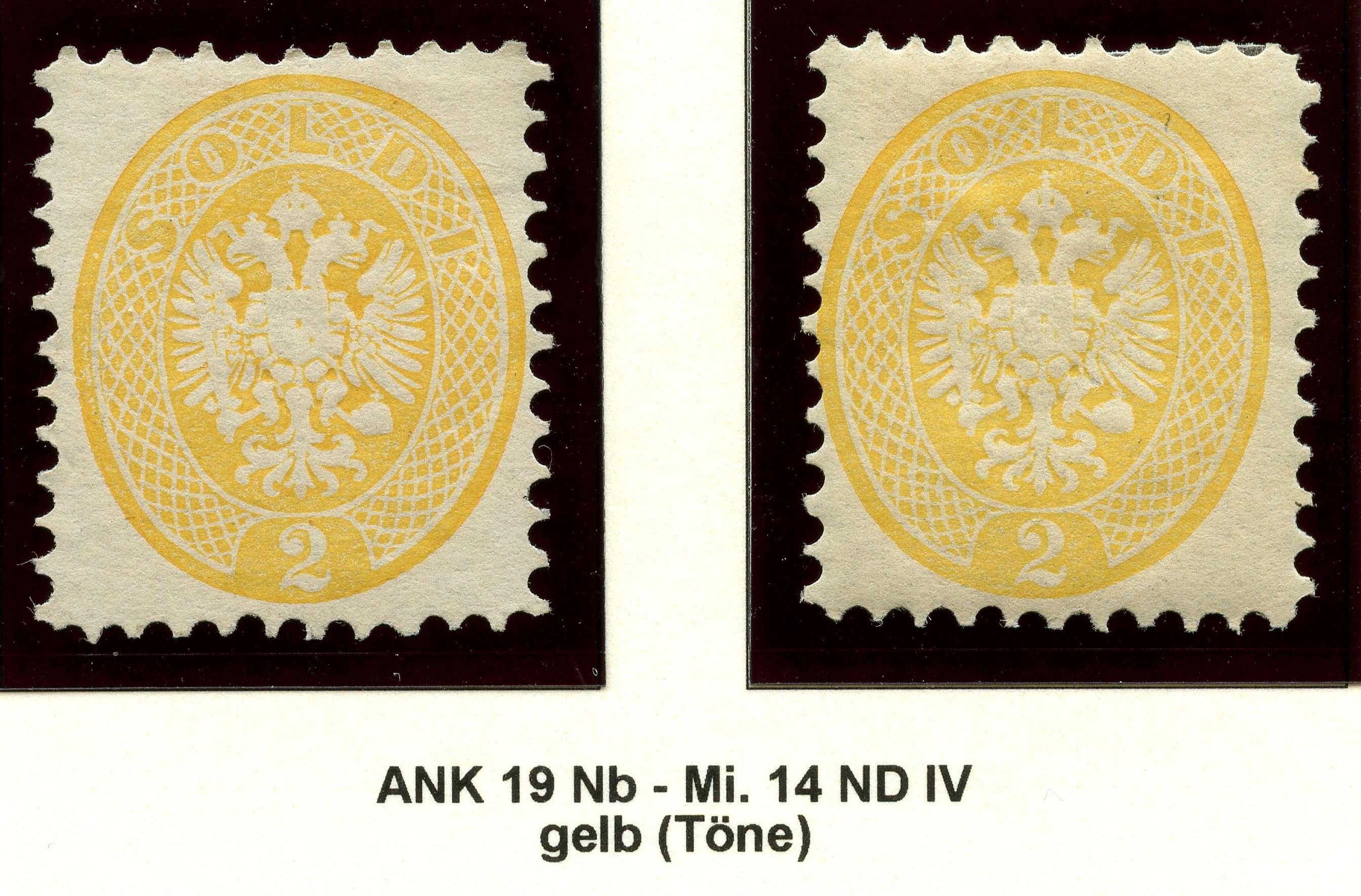 Lombardei-Venetien, Ausgaben 1863 und 1864 1887_l12