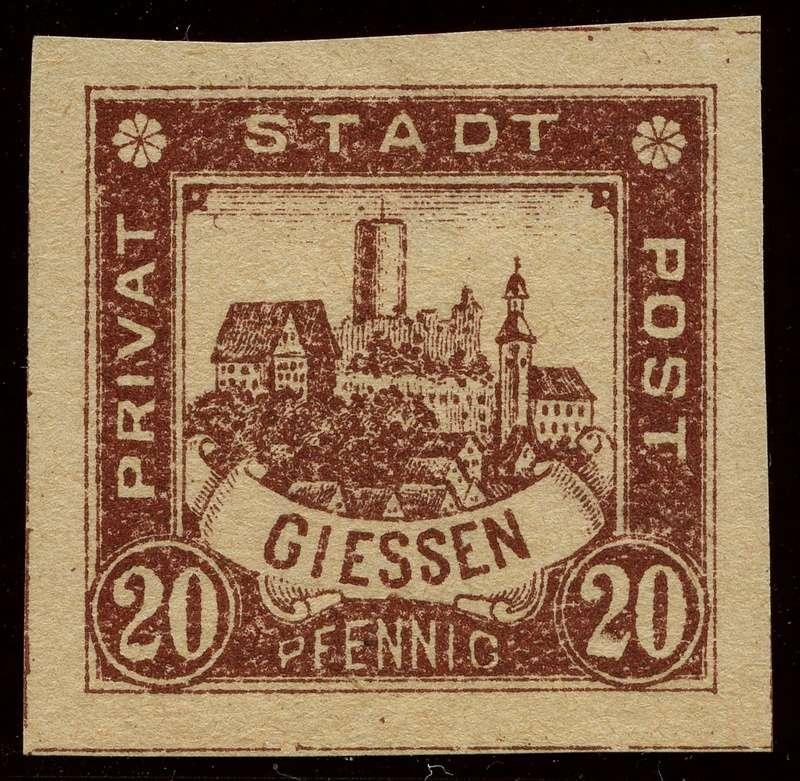 Deutsche Privatpostmarken um 1900  21_ges10