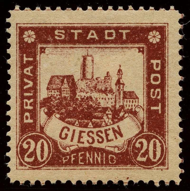 Deutsche Privatpostmarken um 1900  21_gez10