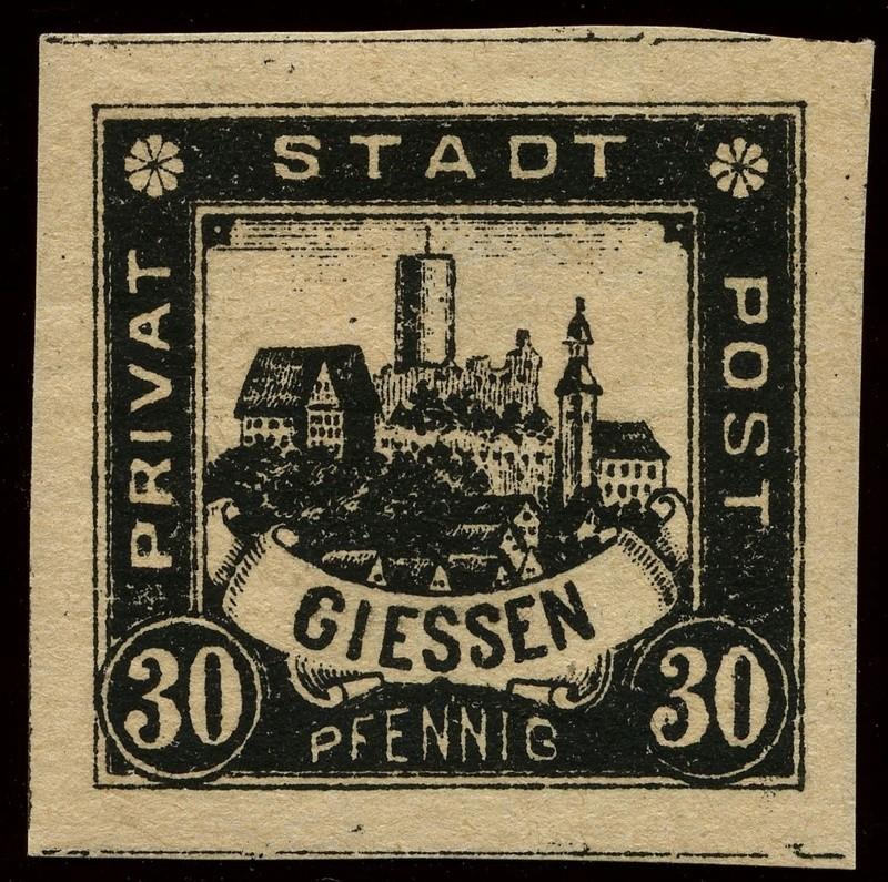 Deutsche Privatpostmarken um 1900  22_ges10