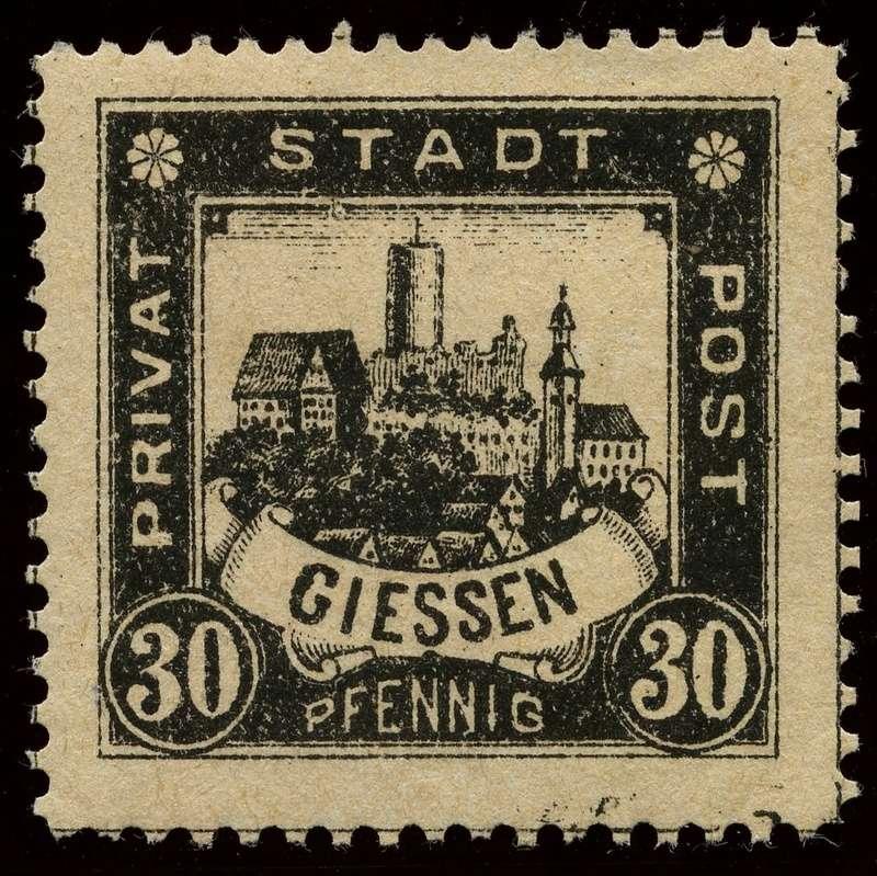 Deutsche Privatpostmarken um 1900  22_gez10