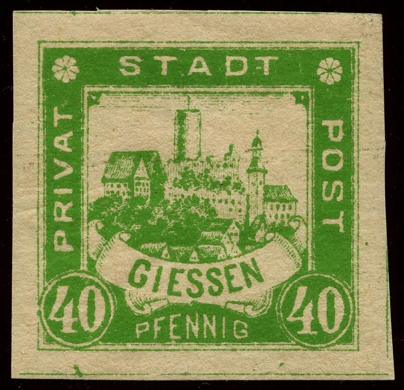 Deutsche Privatpostmarken um 1900  23_ges10