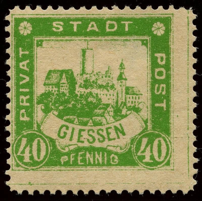 Deutsche Privatpostmarken um 1900  23_gez10