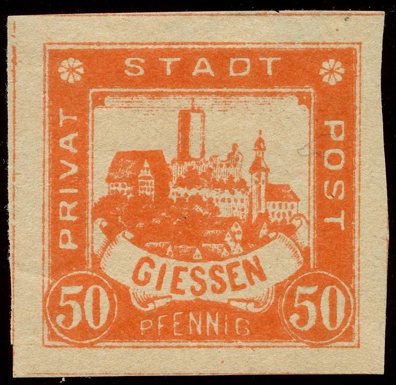 Deutsche Privatpostmarken um 1900  24_ges10