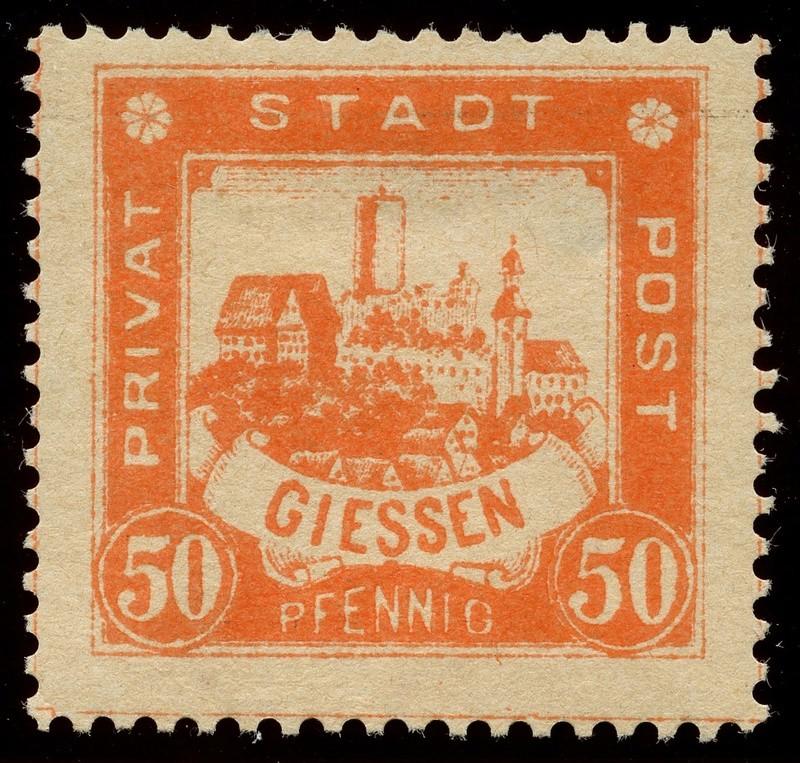 Deutsche Privatpostmarken um 1900  24_gez10