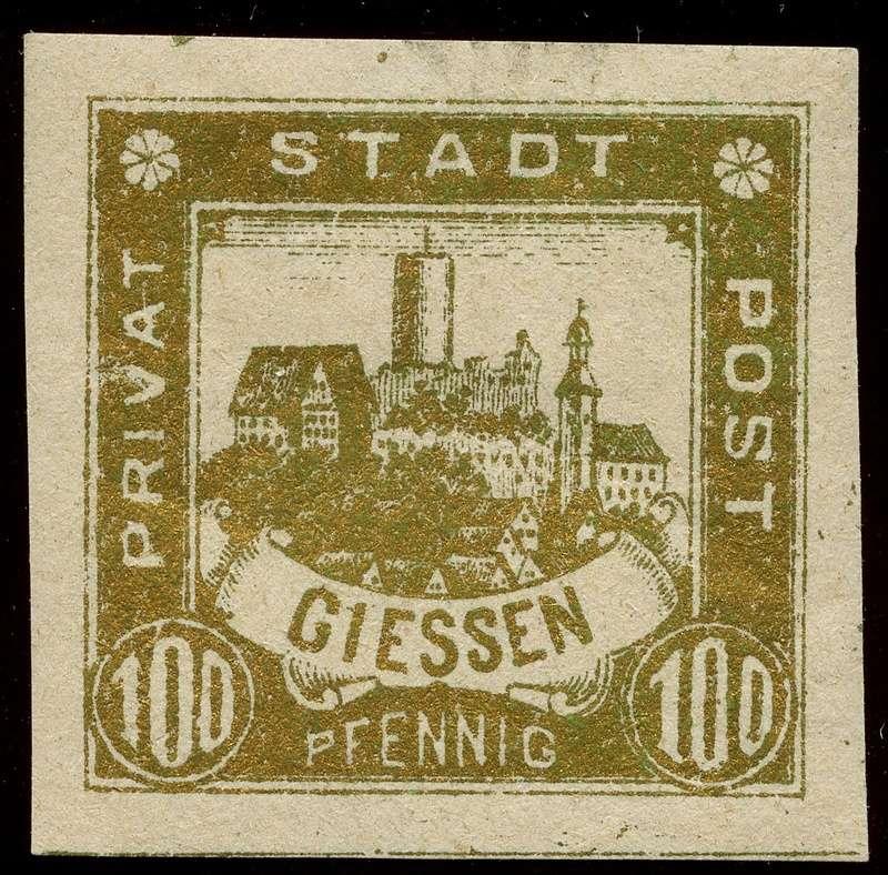 Deutsche Privatpostmarken um 1900  25_ges10