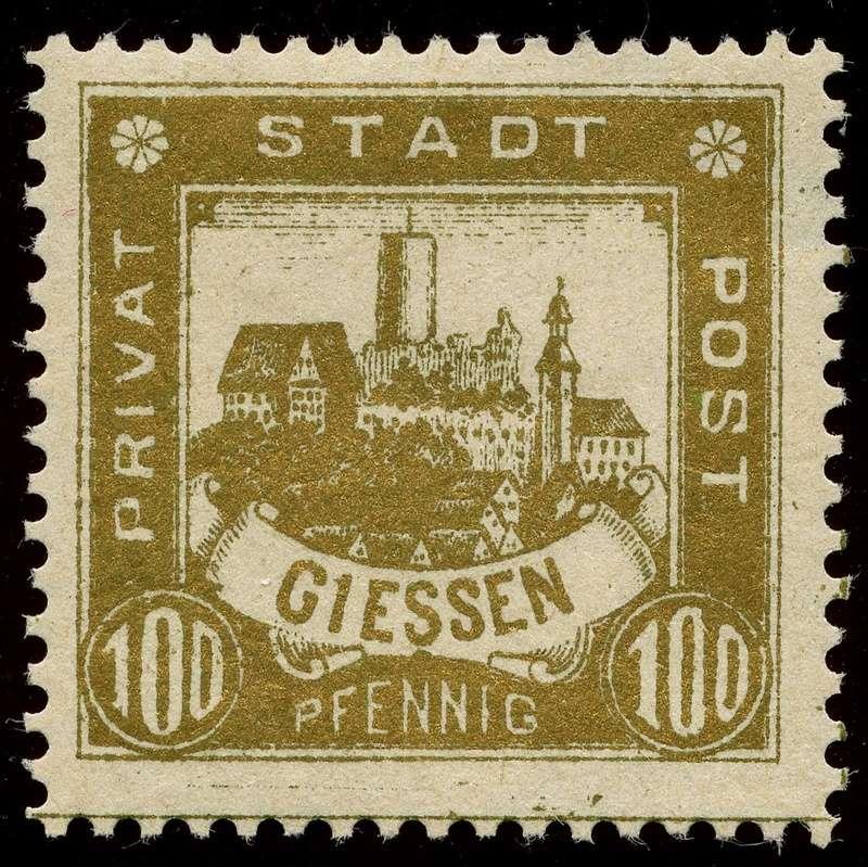 Deutsche Privatpostmarken um 1900  25_gez10