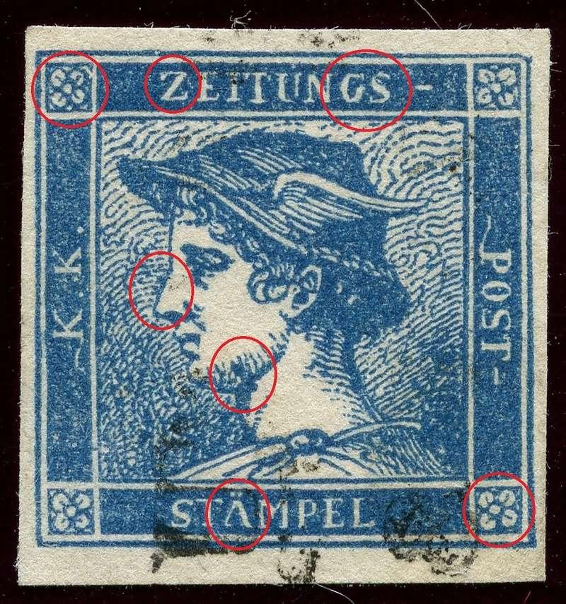 DIE ZEITUNGSMARKEN AUSGABE 1851 Iic_ge11