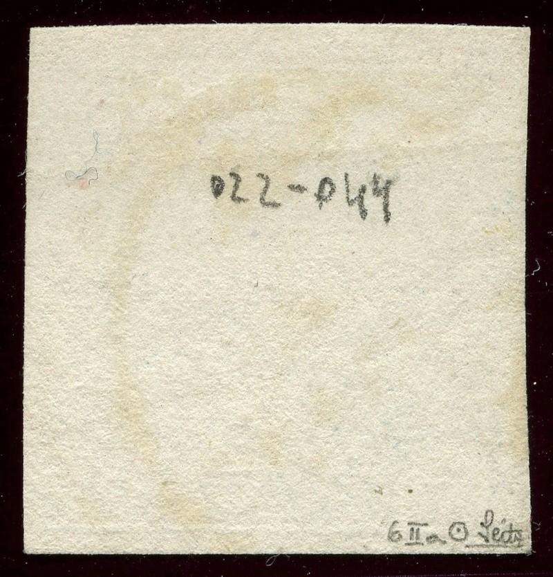 DIE ZEITUNGSMARKEN AUSGABE 1851 Iiia_g10