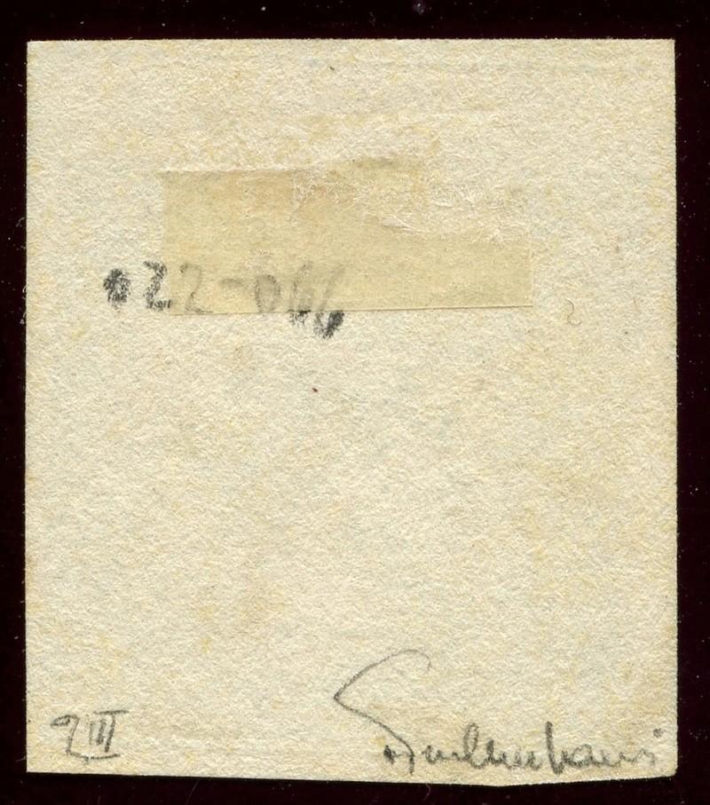 DIE ZEITUNGSMARKEN AUSGABE 1851 Iiib_g10