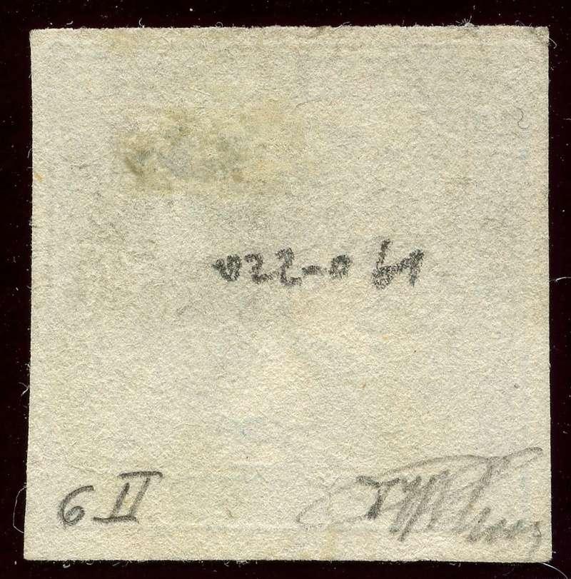 DIE ZEITUNGSMARKEN AUSGABE 1851 Iiib_g13
