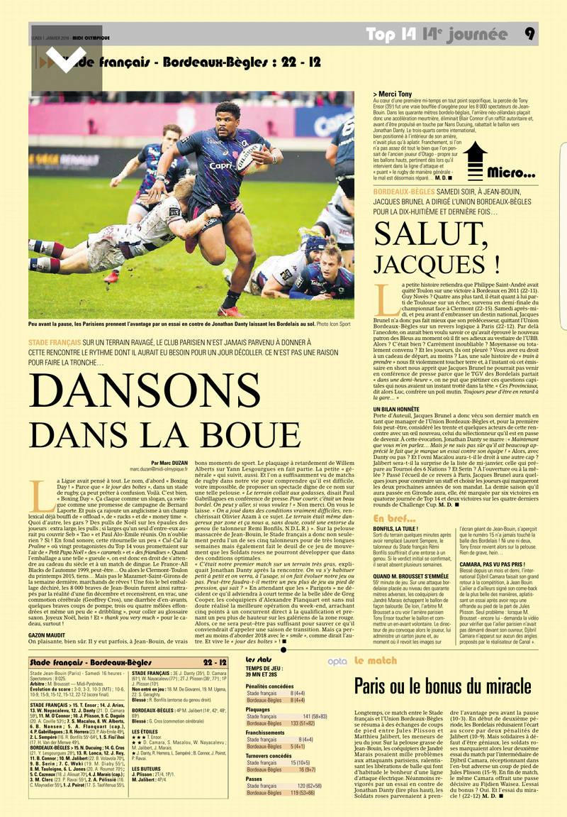 Top14 - 14ème journée : Stade Français - UBB - Page 7 Midol_11