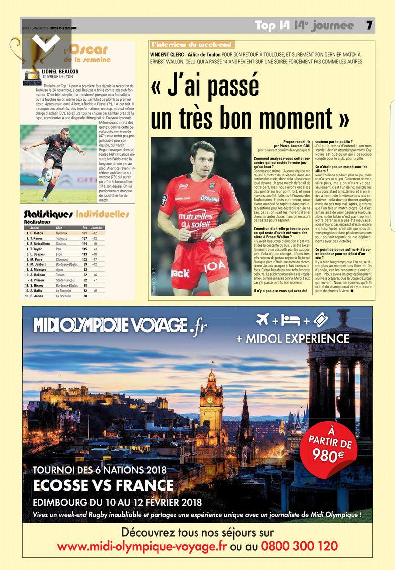 Top14 - 14ème journée : Stade Français - UBB - Page 7 Midol_13