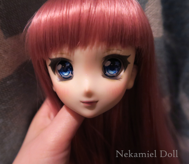 ╰☆ Makeup Nekamiel Doll ☆ ouvert ! Pullip ooak bas p7 Ddh06m12