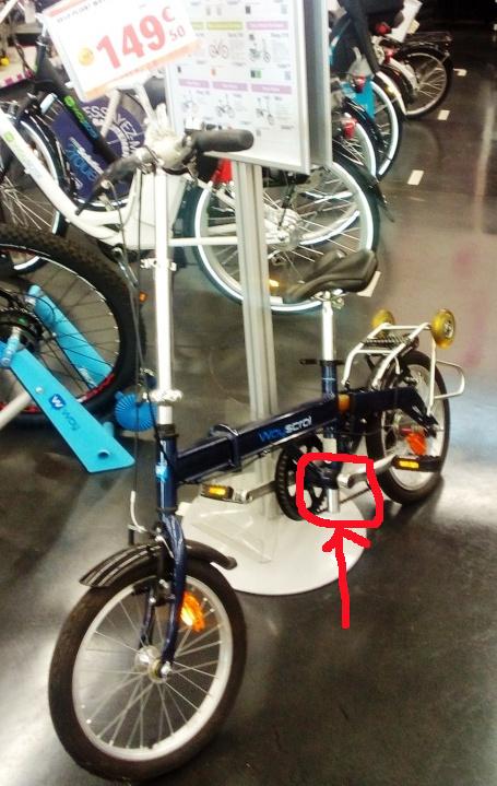 Vélo pliant 16 pouces chez Nauroto Img_2010