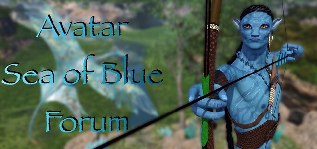 Avatar Sea of Blue Forum, based on James Cameron's Avatar