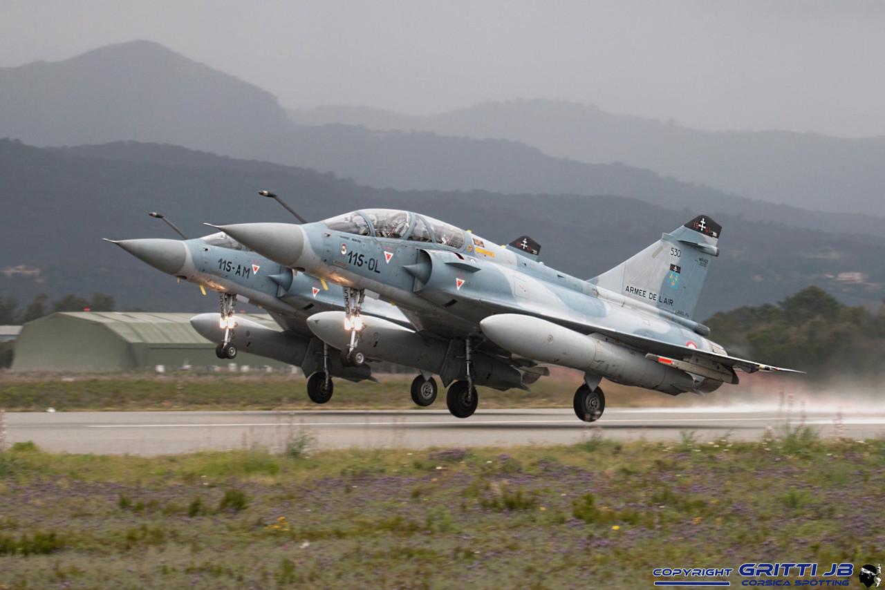 LFKS Solenzara BA126 Mirage43