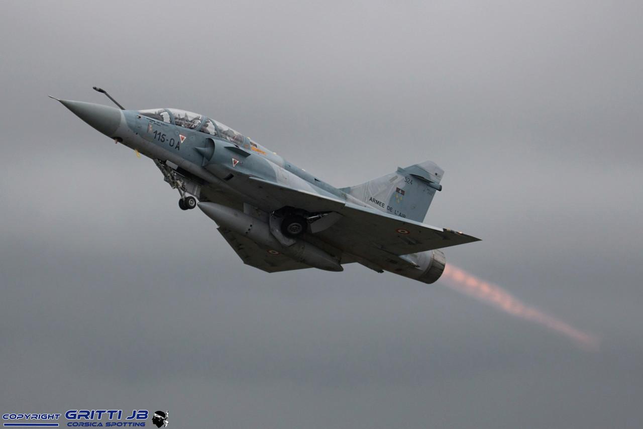 LFKS Solenzara BA126 Mirage44