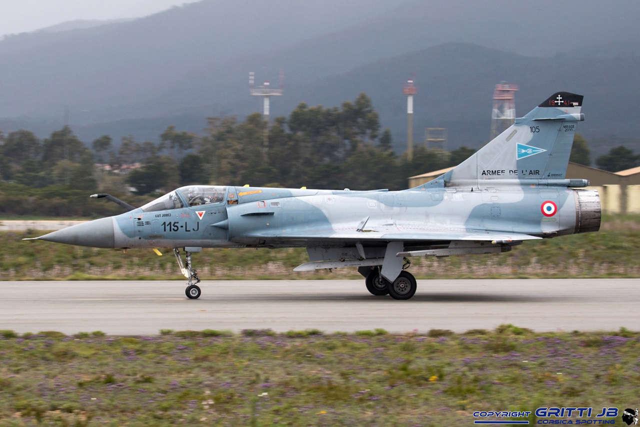LFKS Solenzara BA126 Mirage46