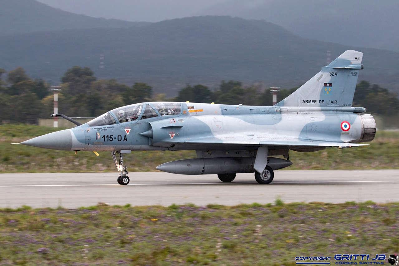 LFKS Solenzara BA126 Mirage47