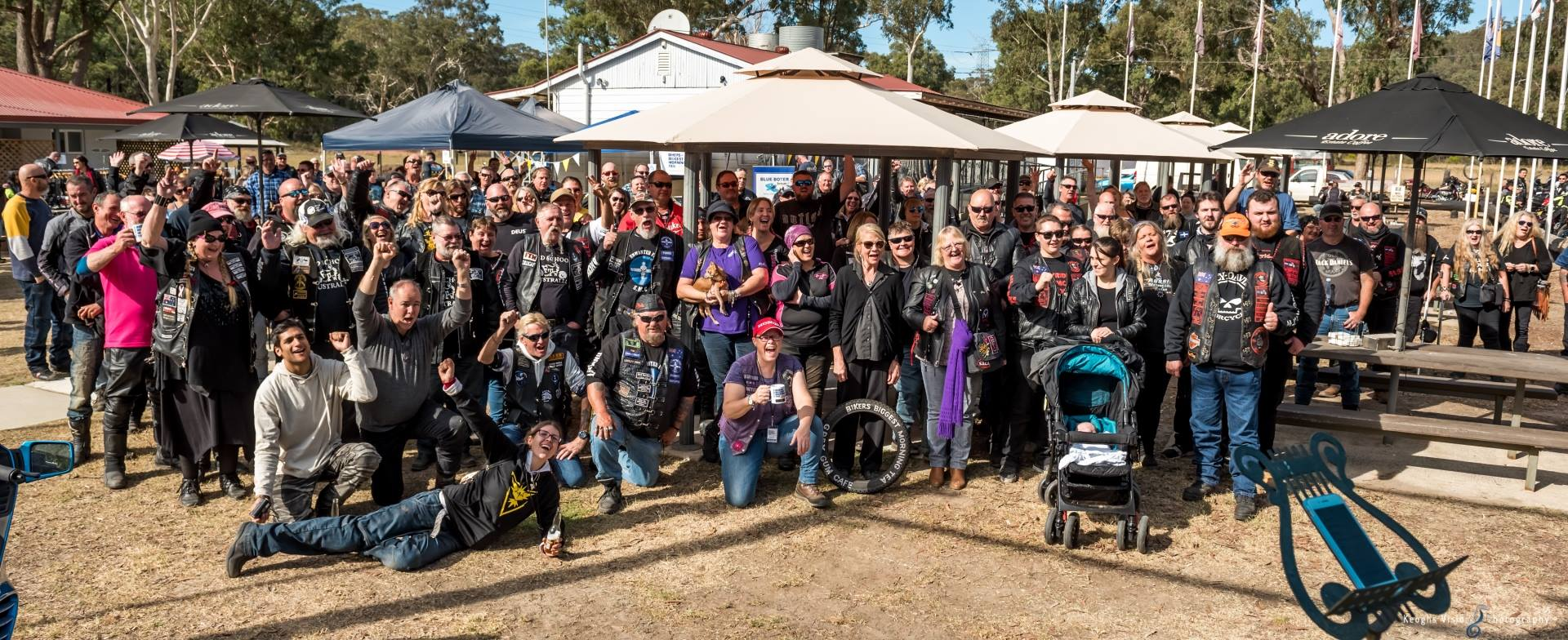 Bikers biggest morning tea 33619910