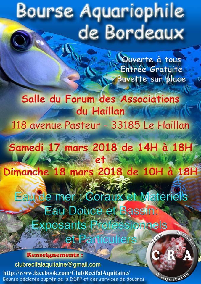 bourse aquariophile bordelaise 2018 Bourse10