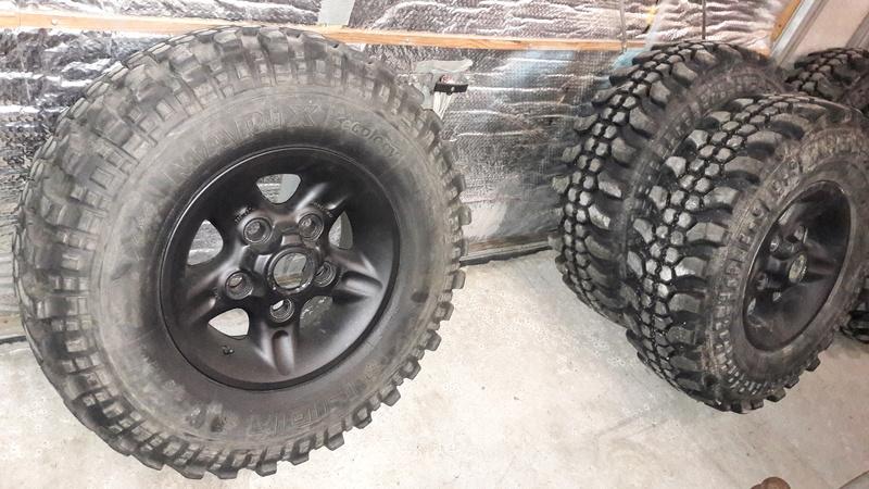 VENDUES    roues TT 235/85/16 20171112