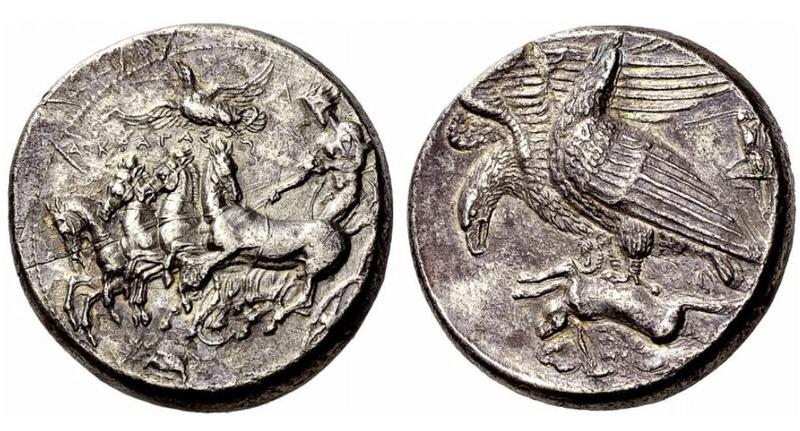 Aureus ou silver rare Akra10