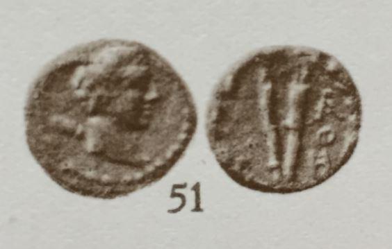 Petit bronze grec à identifier - Torches ? Sv5110