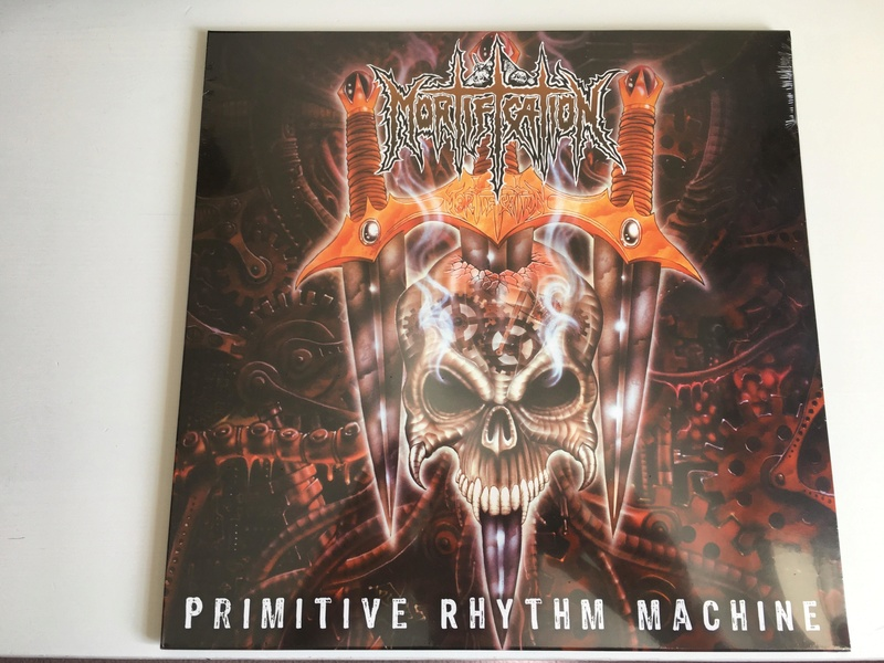 MORTIFICATION: Primitive Rhythm Machine VINYL Photo110