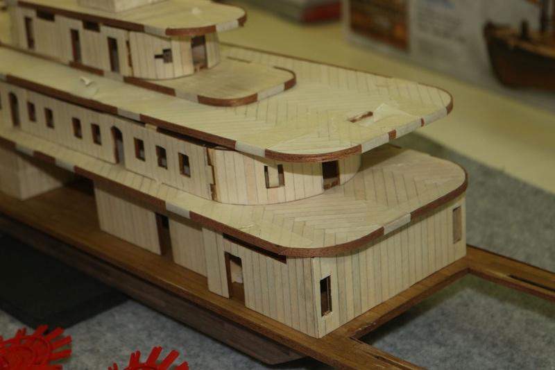 costruzione - Diario di costruzione del battello King of Mississipi - Pagina 2 Img_1633