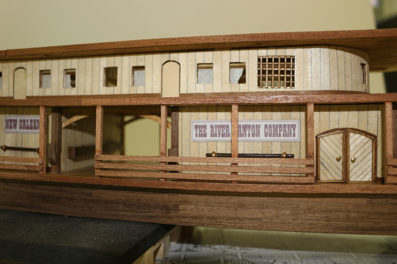 costruzione - Diario di costruzione del battello King of Mississipi - Pagina 3 Img_1652