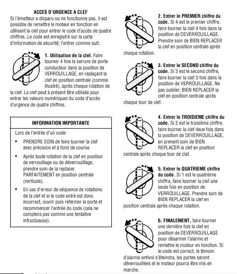 URGENT PORTES BLOQUEES FERMEES : RESOLU Merci Code_e11