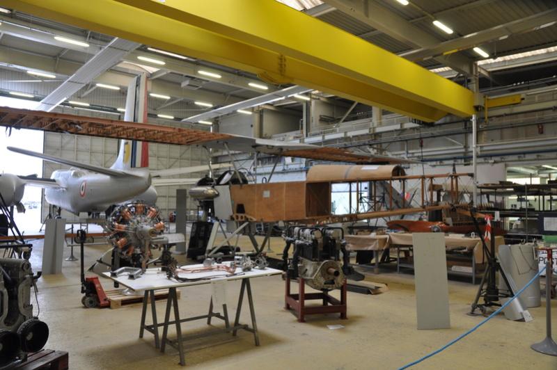 Photos des réserves du Musée du Bourget Dsc_3122