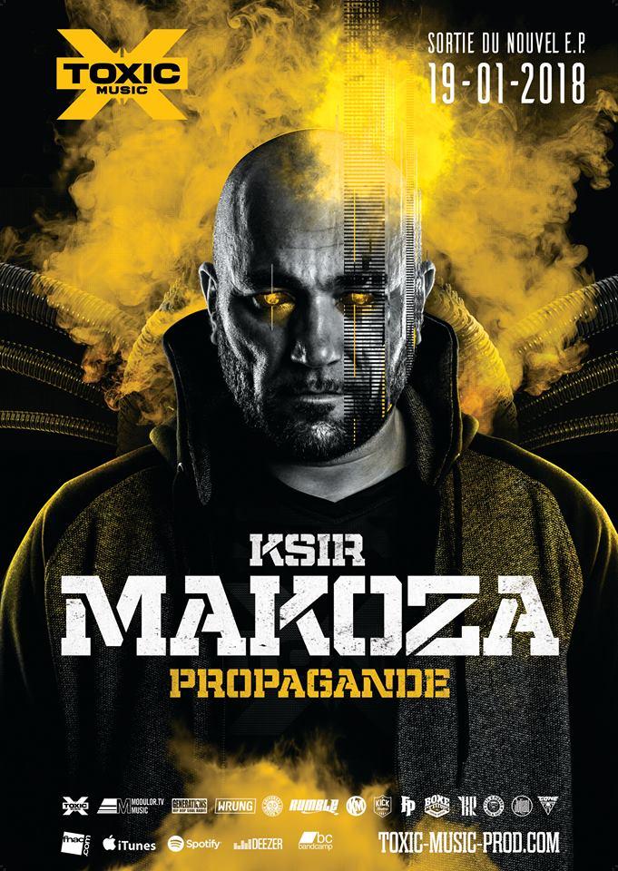 """Ksir Makoza """"PROPAGANDE"""" le 19 Janvier dans les bacs  Affich18"""