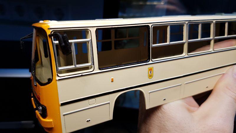 Ikarus 280.02 von Vector-Models Ikarus58