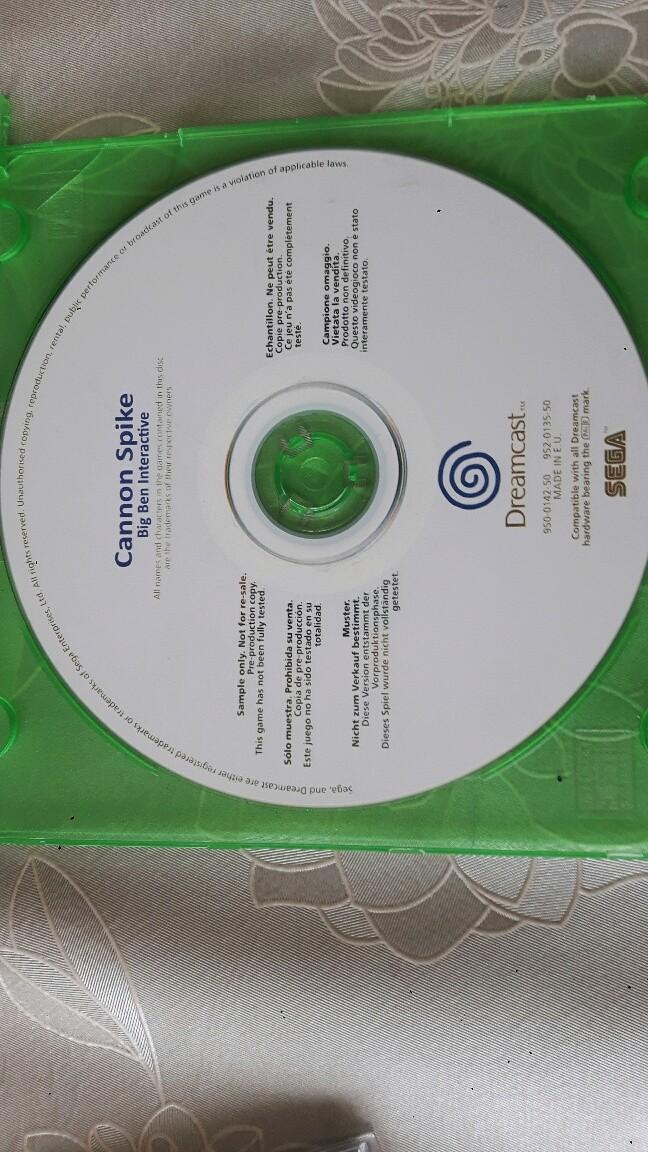 deux jeux dreamcast inconnue pour moi 20180322