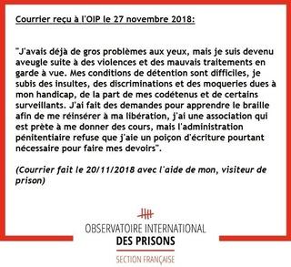 [Partenariat-OIP] Breves de prisons : la réalité. - Page 8 47164011
