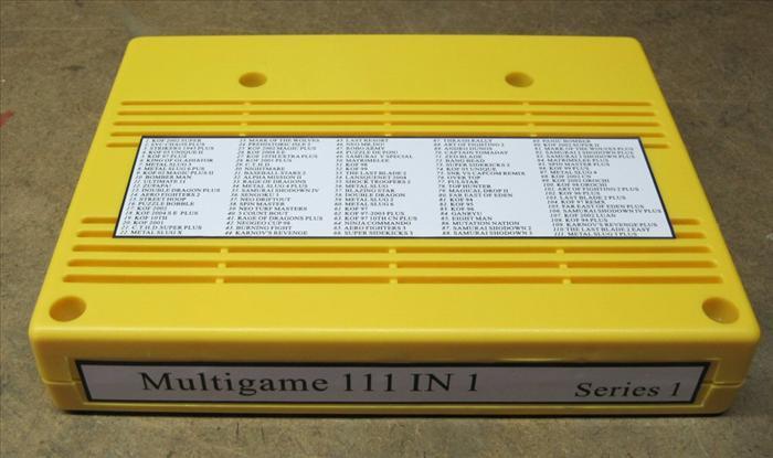 Cartouche Neo Geo MVS 111 in 1 00129410
